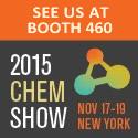 2015 Chem Show banner