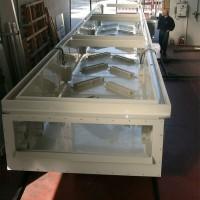 Metal sheet pickling tank